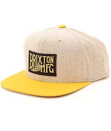 Brixton Coventry Snapback Hat