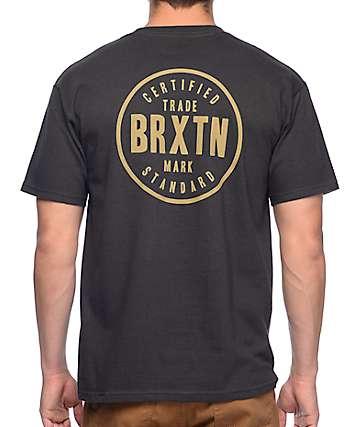 Brixton Cowen Black T-Shirt