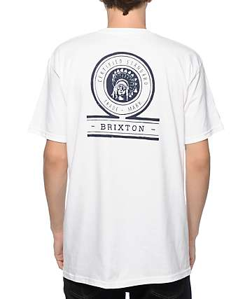 Brixton Crow camiseta con bolsillo