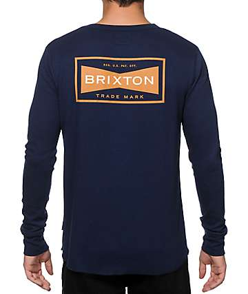 Brixton Fuel Thermal Baseball T-Shirt