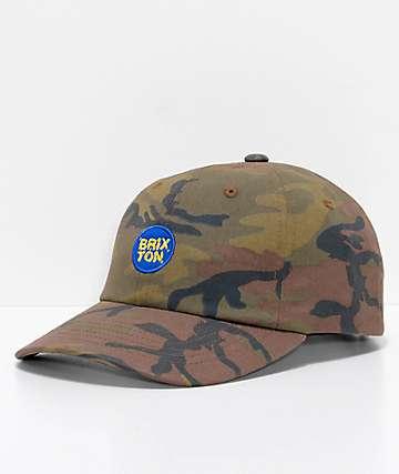Brixton Glasgow Camo Strapback Hat