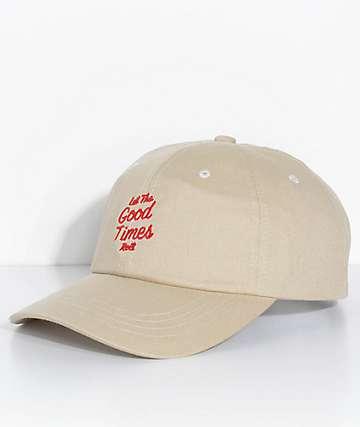 Brixton Good Times Stone gorra strapback