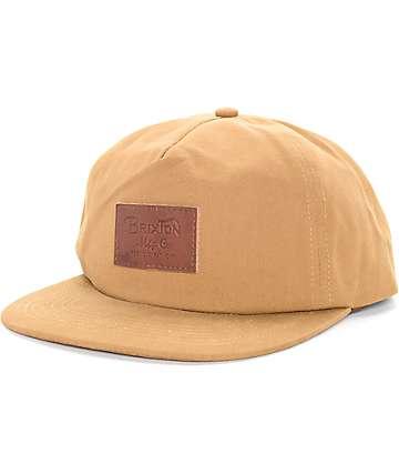 Brixton Grade Copper Snapback Hat