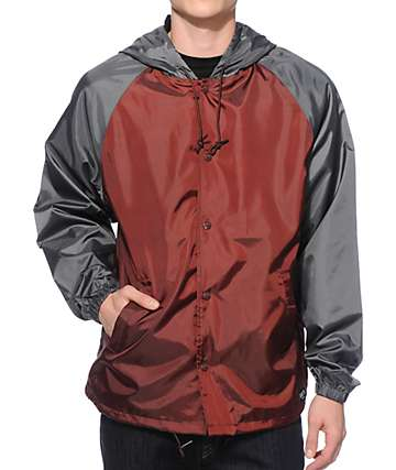Brixton Hoover Hooded Windbreaker Jacket