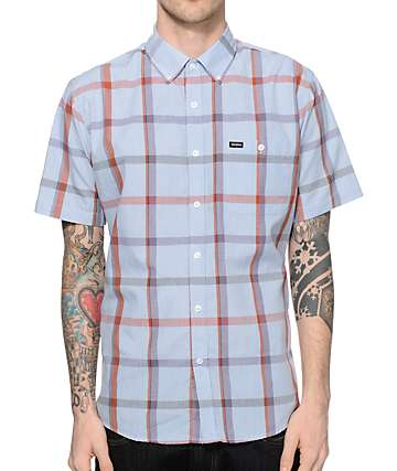 Brixton Howl Plaid Button Up Shirt