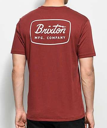 Brixton Jolt Brick Premium T-Shirt