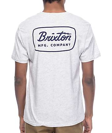 Brixton Jolt Heather Stone Premium T-Shirt