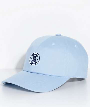 Brixton Last Call Light Blue Strapback Hat