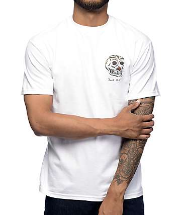Brixton Last Call White T-Shirt