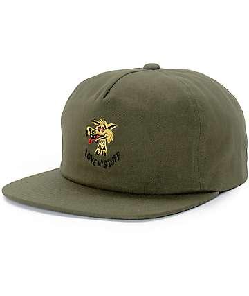 Brixton Lovin Olive Unstructured Strapback Hat