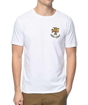 Brixton Lovin White T-Shirt