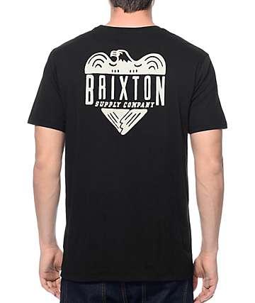 Brixton Mathis Black Premium T-Shirt