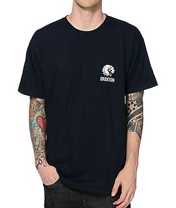 Brixton Norris Pocket T-Shirt