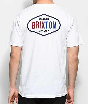 Brixton Oakland White T-Shirt