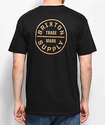 Brixton Oath Black T-Shirt