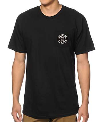 Brixton Oath Pocket T-Shirt