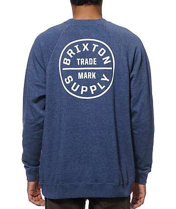 Brixton Oath Wash Crew Neck Sweatshirt