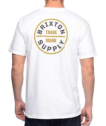 Brixton Oath White T-Shirt