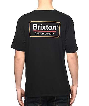 Brixton Palmer Black T-Shirt