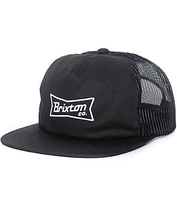 Brixton Pearson gorra trucker en negro