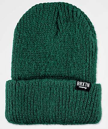 Brixton Redmond Hunter Green Beanie