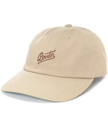 Brixton Reggie Khaki Hat