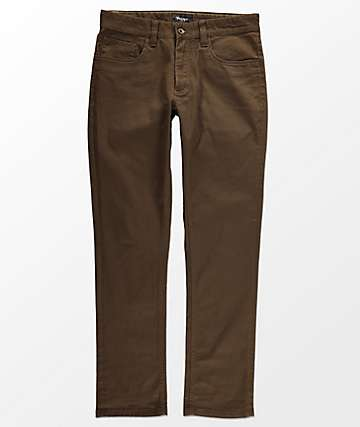 Brixton Reserve 5 Pocket Brown Jeans