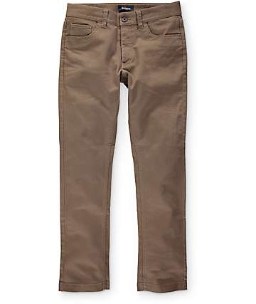 Brixton Reserve 5 Pocket Dark Khaki Pants