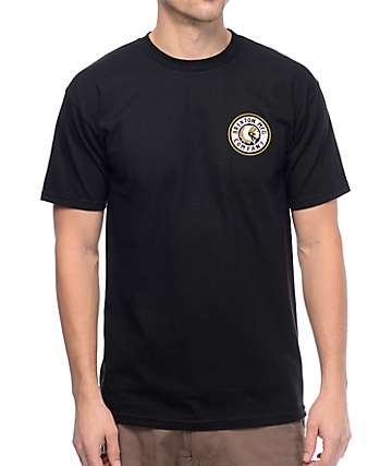 Brixton Rival II Black T-Shirt