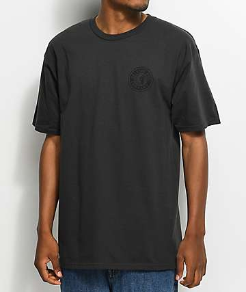 Brixton Rival II Black Washed T-Shirt
