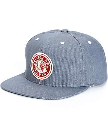 Brixton Rival Snapback Hat