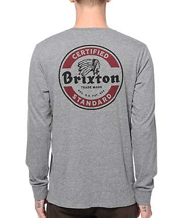 Brixton Soto Long Sleeve T-Shirt