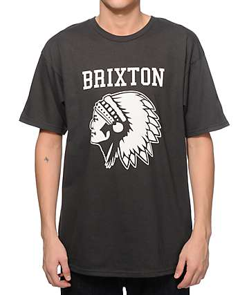 Brixton Stadium Wash T-Shirt