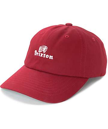 Brixton Tanka II Burgundy Hat