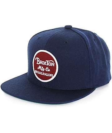 Brixton Wheeler Snapback Hat