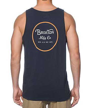 Brixton Wheeler Tank Top