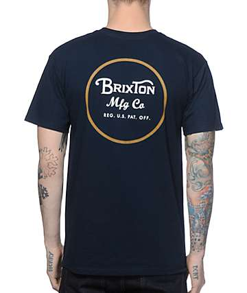 Brixton Wheeler camiseta
