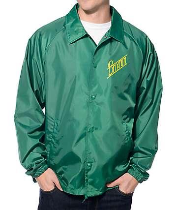 Brixton Wilson Green & Yellow Coach Jacket