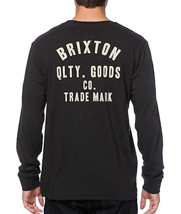 Brixton Woodburn Long Sleeve T-Shirt