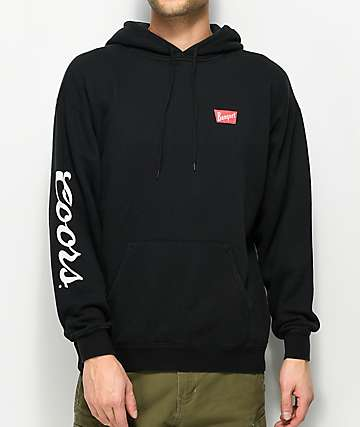 Brixton x Coors Banquet Black Fleece Hoodie