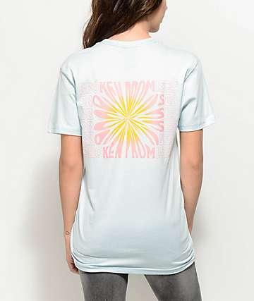 Broken Promises Dandelion Light Blue T-Shirt