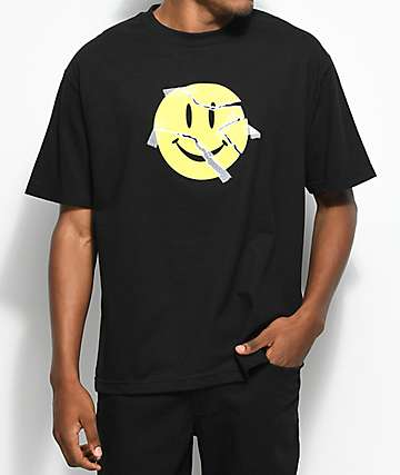 Broken Promises I'm Fine camiseta negra