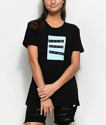 Broken Promises Out Of Control camiseta negra