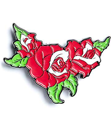 Broken Promises Rose Pin