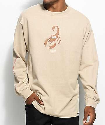 Broken Promises Stinger camiseta de manga larga en color arena