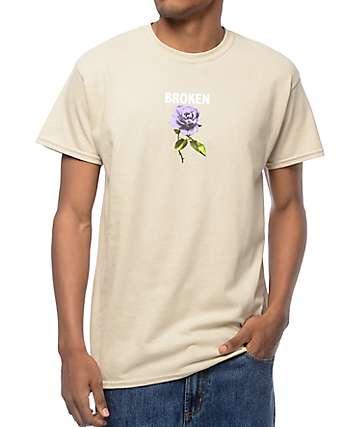 Broken Promises Thornless camiseta en color arena