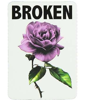 Broken Promises Thornless pegatina