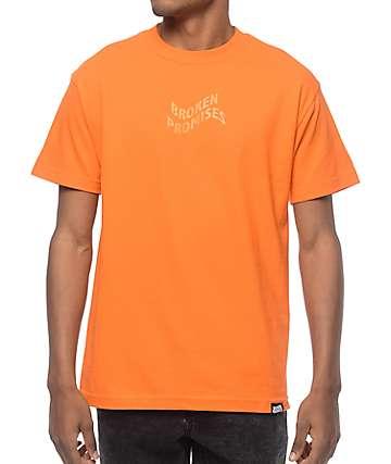 Broken Promises Vortex Orange T-Shirt