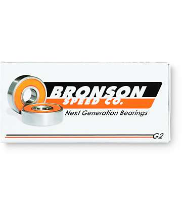 Bronson G2 Rodamiento para skateboard