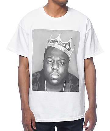 Brooklyn Mint Biggie Crown White T-Shirt